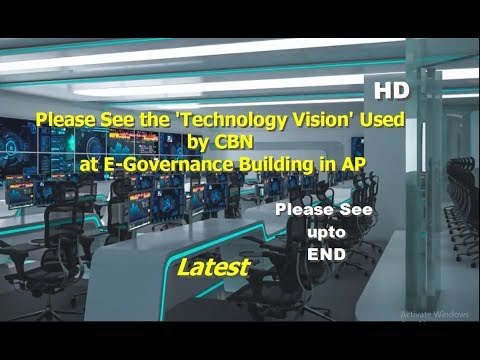 PLEASE SEE E-Governance Building at AP by APCM CBN, Plz know the knowledge of CBN newest technology