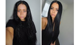 How I Straighten Mỳ Hair - SLEEK Hair Routine