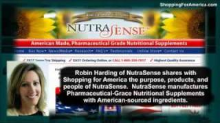 Supplements by NutraSense are Made In America