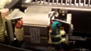 Look inside an Omnitech OT-NXC10PA cross cut shredder + mod