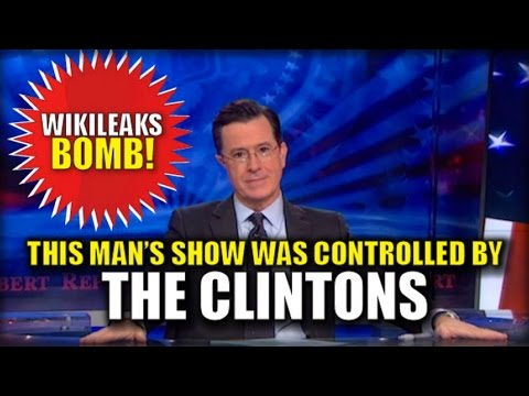 WIKILEAKS BOMBSHELL: TV HOST STEPHEN COLBERT TOOK PROGRAMMING ORDERS DIRECTLY FROM CLINTON TEAM