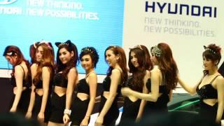 Thailand motor expo 2013 hyundai