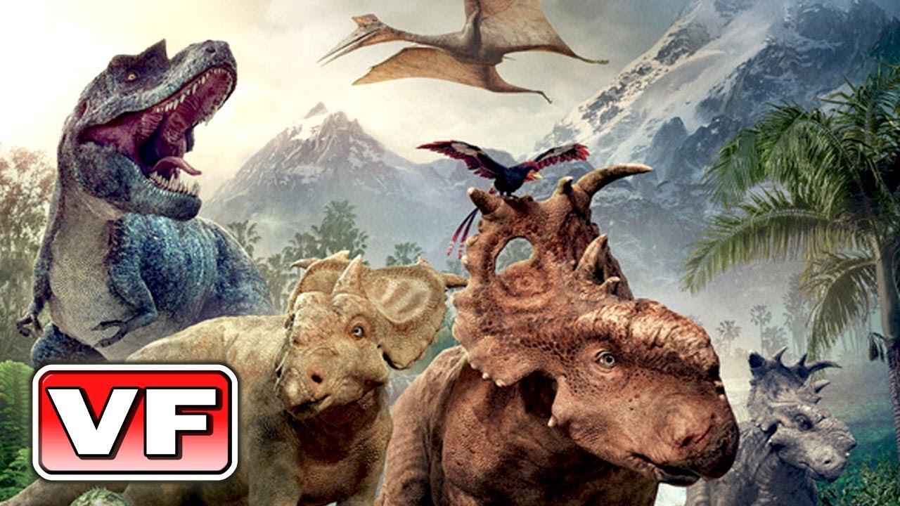 Sur la terre des dinosaures 3d bande annonce vf du film youtube - Dinosaure rigolo ...