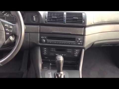Bmw E39 Interior Trim Carbon Fiber Wrap Youtube
