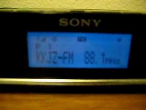 Clip of KKJZ (KJAZZ) 88.1 FM Long Beach California in HD