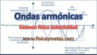 Onda transversal o armónica en una cuerda |  Examen Física Selectividad