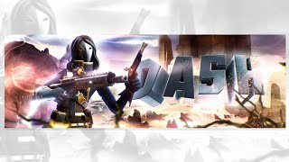 Ps Touch SpeedArt »[27] Ultra Dash » 3D Fortnite Header » (FREE GFX) [ Tutorial? ]