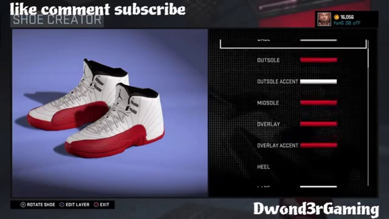 more photos 82a22 b0703 NBA 2k16 - Air Jordan 12