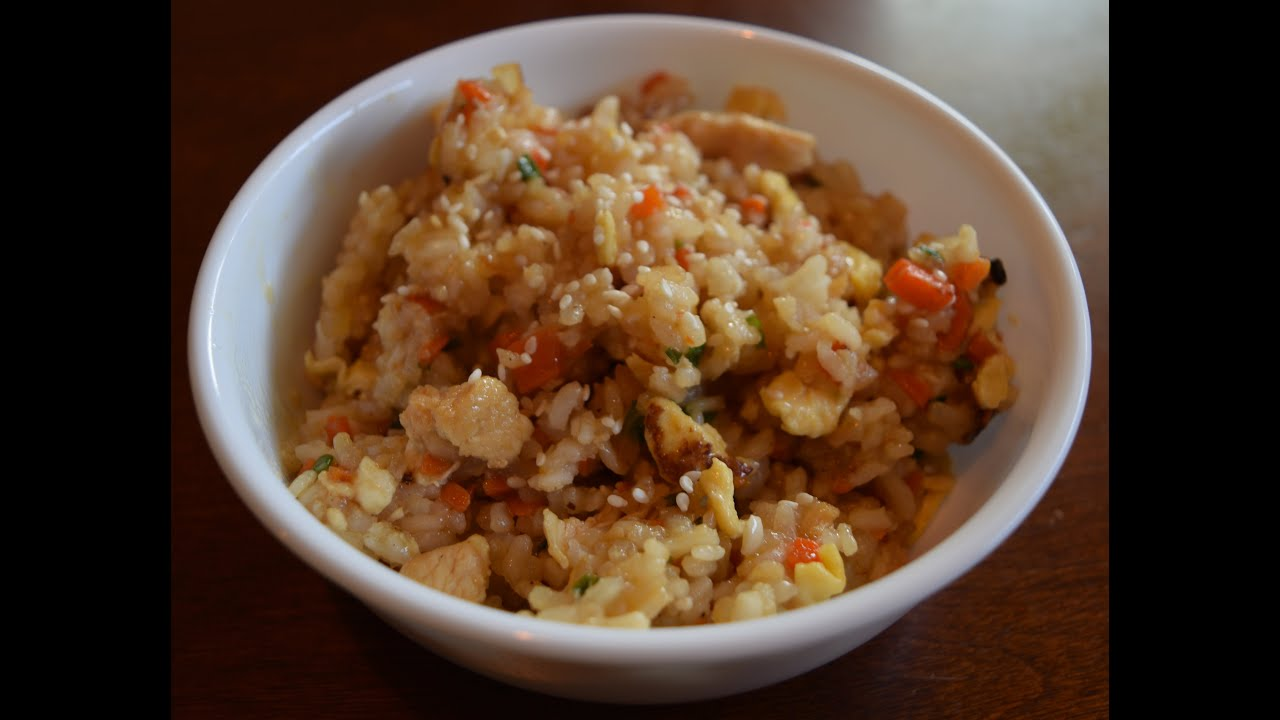 Benihanas fried rice recipe the right way youtube benihanas fried rice recipe the right way something tasty cooking ccuart Images
