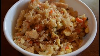 Benihana's Fried Rice Recipe - THE RIGHT WAY!!