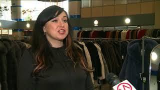 В деловом центре «Ямал» открылась выставка продажа шуб и пальто меховой фабрики «Кристи»