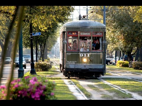 Fantastic Ride on World's Oldest Streetcar Line in New Orleans, Louisiana