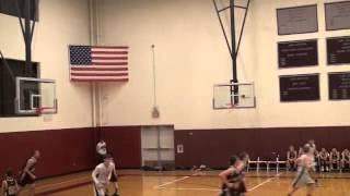 8th grade dunker (Nick Alikakos) throws down 2 monster dunks