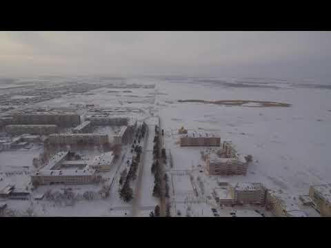 Лисаковск полет над городом