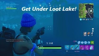 Fortnite Glitches - How To Get Under The Map At Loot Lake