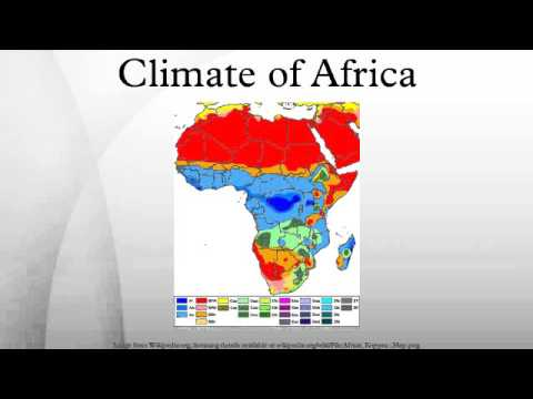 Climate of Africa