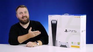 Распаковка PlayStation 5, первый взгляд на Dual Sense и немножко ASMR
