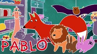 Pablo - The growling toy S01E45 HD | Cartoon for kids