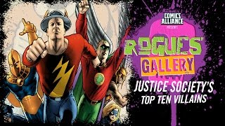 10 Greatest Justice Society of America Villains - Rogues' Gallery