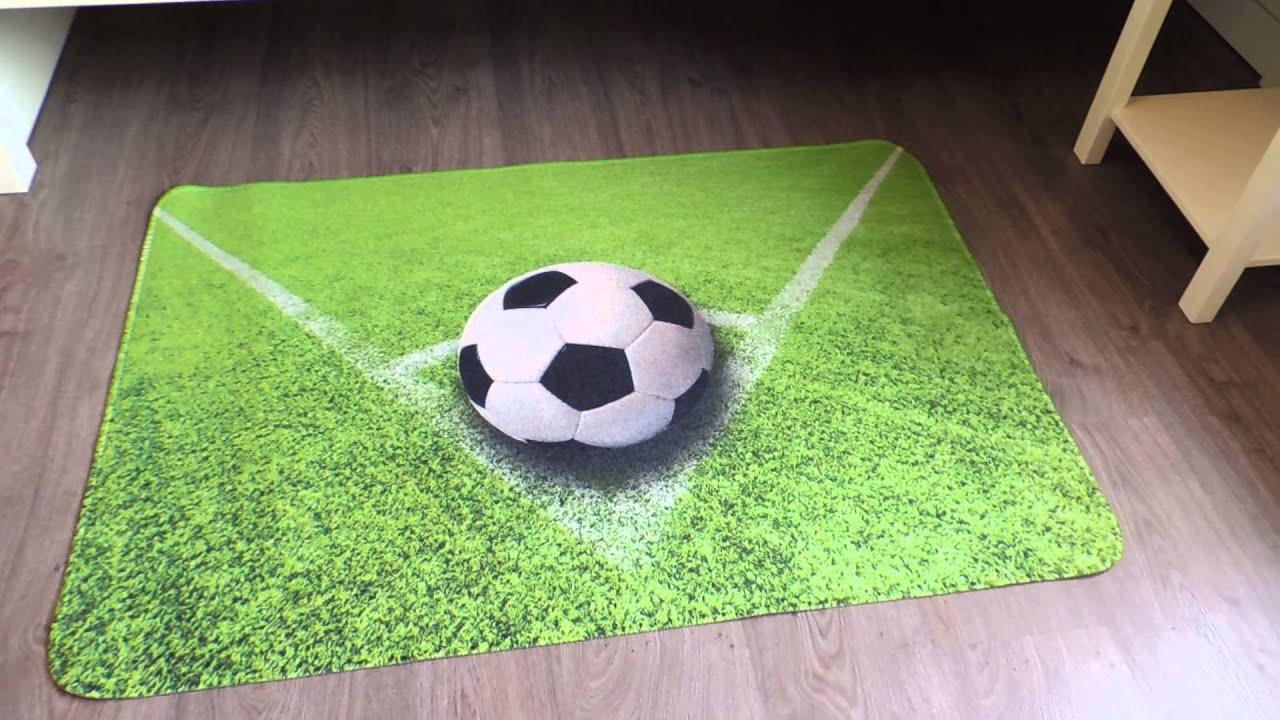 Verwonderlijk Vloerkleed voetbal - vloerkleed jongenskamer - speelmat of CX-07