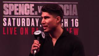 ERROL SPENCE JR vs MIKEY GARCIA FULL PRESS CONFERENCE IN LOS ANGELES