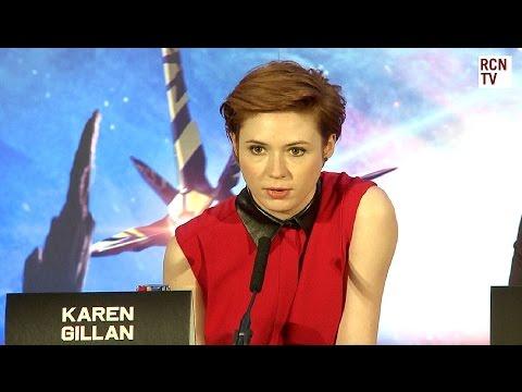 Karen Gillan & Chris Pratt Interview - Casting - Guardians of the Galaxy Premiere