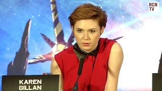 Karen Gillan & Chris Pratt Interview - Casting - Guardians of the Galaxy Premiere