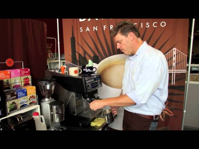 Office Barista Series - How To Make a David Rio Chai Latte in your Café - SHORT CUT