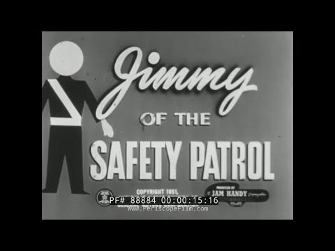 AAA SAFETY PATROL JAM HANDY / CHEVROLET PUBLIC SERVICE FILM 88884