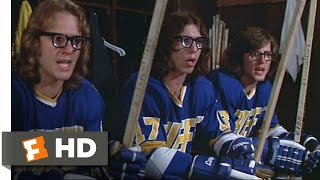 The Hansons Are Pumped - Slap Shot (4/10) Movie CLIP (1977) HD