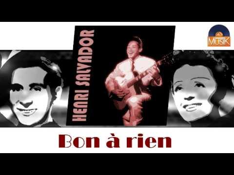 Henri Salvador - Bon à rien (HD) Officiel Seniors Musik