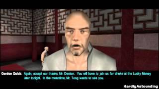 Deus Ex [Non-Lethal] Part 12 - Hong Kong (Versalife Visit 1)
