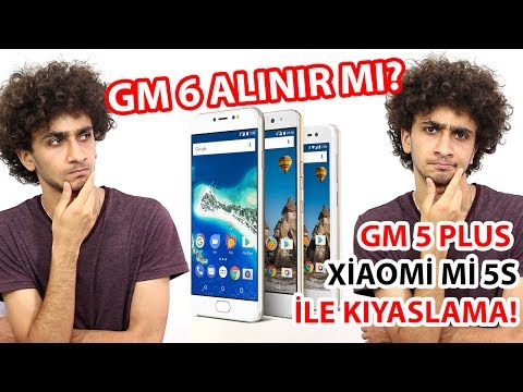 Thumbnail: General Mobile GM 6 Alınır mı? GM 5 Plus vs GM 6! Kıyaslama!