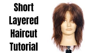 How to Cut Short Layers on Long Hair - TheSalonGuy