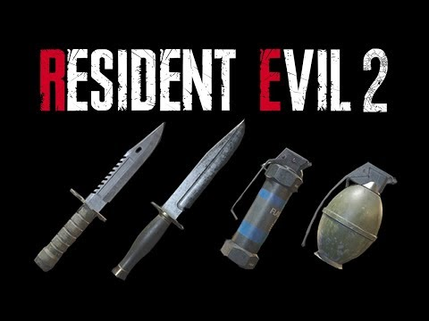 Resident Evil 2 Remake | HD Weapons Review - Part 1