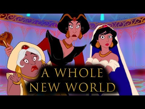 A WHOLE NEW WORLD - Aladdin [GENDER SWAP Cover By Shannon & Noel Noir] Feat. Bakyaan