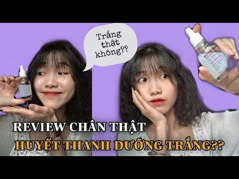 REVIEW CHÂN THẬT HUYẾT THANH DƯỠNG TRẮNG?l Minh Ngọc