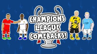 Liverpool vs Real Madrid! How to do a PERFECT Champions League COMEBACK!