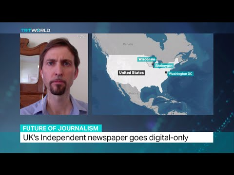 Interview With Kevin Anderson About UK's Independent Newspaper