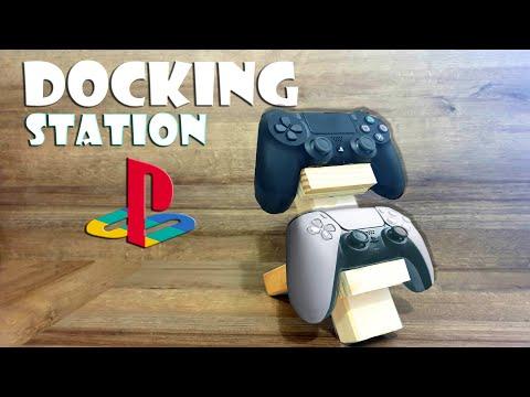 🎮 Docking Station für Controller selber machen - playstation charging station DIY [4K]