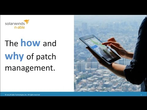 The How and Why of Patch Management