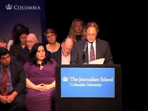 Journalism School Graduation Ceremony, Columbia University