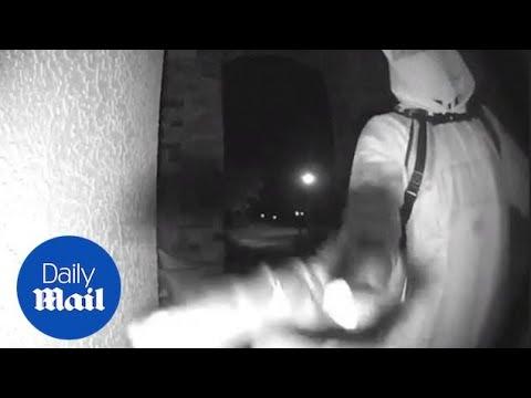 Randy Rose - Man In Hazmat Suit Goes Door-to-Door