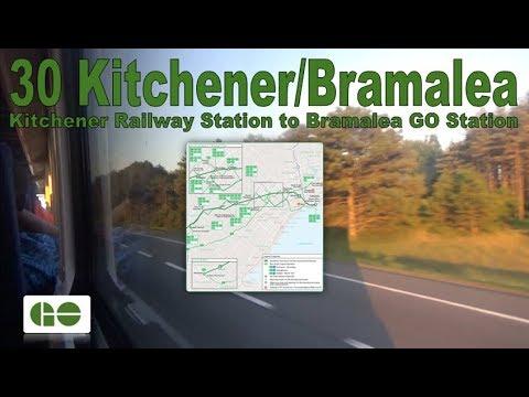 30 Kitchener/Bramalea - GO Transit 2011 MCI D4500CT 2468 (Kitchener Railway Stn to Bramalea GO Stn)