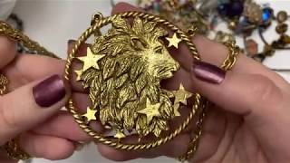 Jewelry Haul Vintage Gold Silver Thrift Haul
