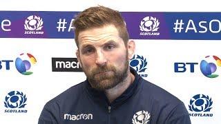 John Barclay Pre-Match Press Conference - Scotland v France - Six Nations