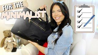 WHAT'S IN MY HOSPITAL BAG - Minimalist Hospital Bag: What You Really Need in your Hospital Bag