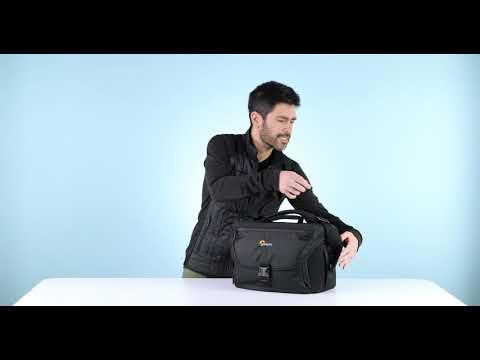 『e電匠倉』LOWEPRO 羅普 Nova 200 AW II 諾瓦 二代 側背相機包(迷彩)  斜背單眼包 肩背攝影包