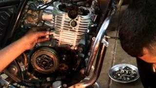 bajaj discover 125 engine repair vedio part 2