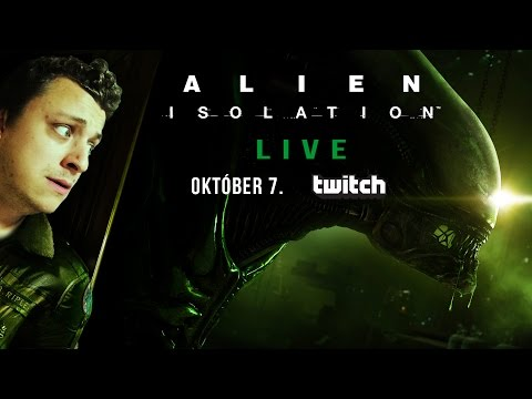 TheVR Live: Alien Isolation #1